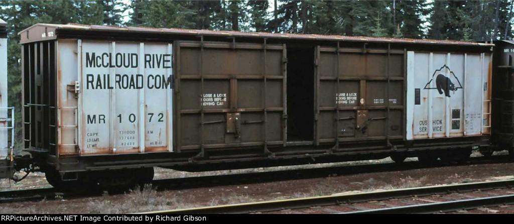 MR 1072 Box Car