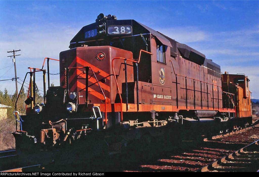 MCR 38 Engine (SD38)