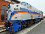 MARC 7100 Locomotive (F7A)