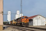 BNSF 7603 westbound BNSF empty ethanol train