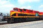KCSM GP22ECO-M locomotive