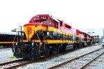 KCSM Eco locos at yard