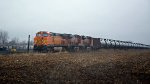 BNSF 4152 Heads an Oil Can
