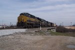 NS 8100 Nickel Plate Heritage unit