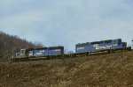 CR SD40 6332 and 1978-built SD40-2 6448