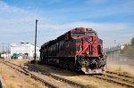 FSRR ES44AC in Alstom yard at Ferrovalle
