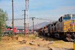 Ferromex and Kansas Locomotives at Ferrovalle yard