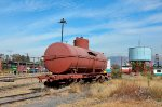 Old tank car near Ferrovalle Roundhouse