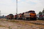 KCS and KCSM locomotives on Ferrovalle yard