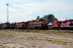 Locomotives at Ferrovalle yard