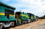 FTVM Locomotives at yard