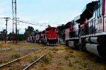 FXE Locomotives at Ferrovalle yard