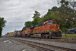 BNSF 7623 eastbound BNSF intermodal train