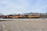 BNSF 4618 Drags a loaded coal out of Old Monroe Mo.