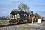 NS 8351 Ex Conrail knocks down the Wabash.
