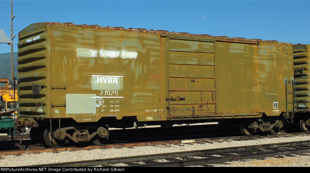 HVRR 27028 Box Car