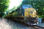 CSX 819 on the River Line