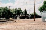 Single unit leading a NB empty Coal train