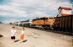 7 unit coal train