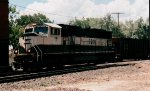 BN 9700 leads a NB empty coal train