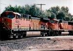 BNSF head of Empty Coal train