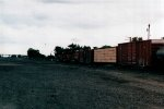 BNSF freight leaving town