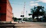 Final signal through town