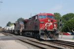CP 9521 Crossing the NS at Fostoria