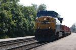 Going Solo CSXT 561 handles a westbound intermodal