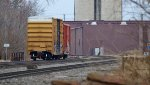 Waiting on the siding at Marion, Ohio