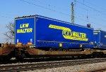 Trailer car Sdggmrss TWIN of HUPAC, Switzerland