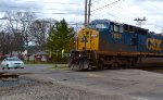 CSX intermodal at Worthington, Ohio.