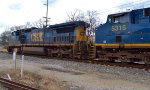 CSX intermodal crosses into Columbus.