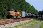 UP 6038 on CSX Loaded Ethanol Train