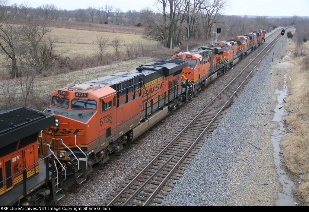 BNSF 6735 Roster