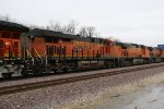 BNSF 7032 Roster