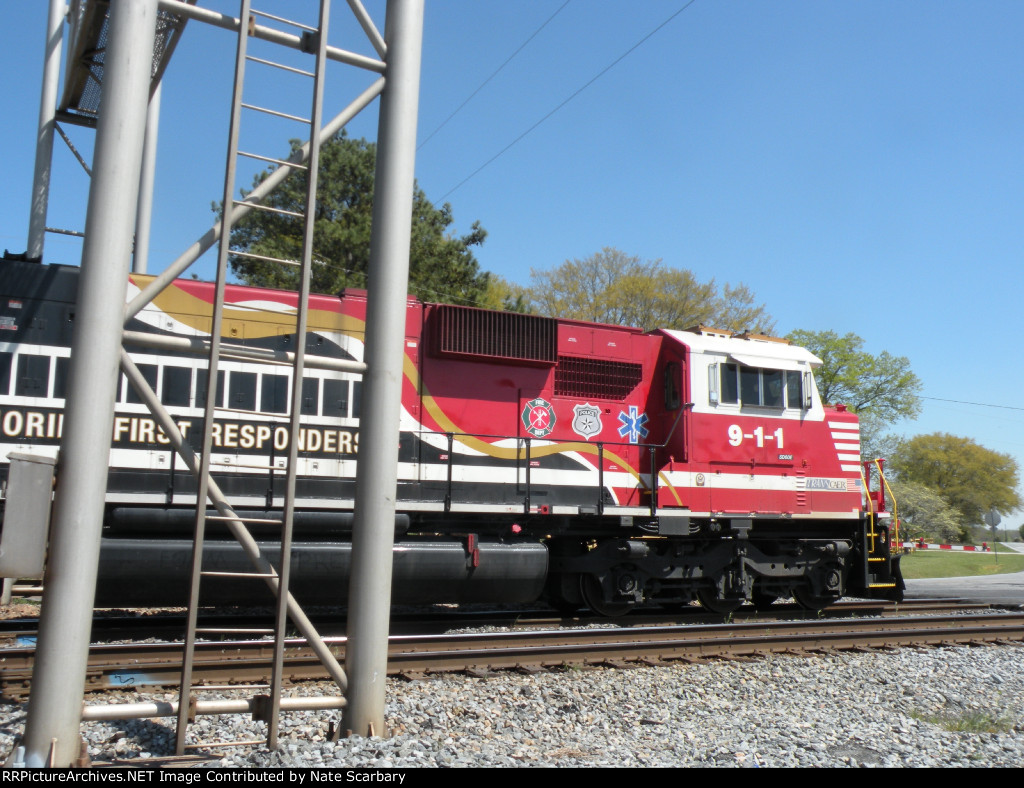 NS 911 under the Bunch signal