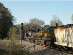 NS #174 with NS 9214 splitting the signals with Nickel Plate