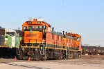 BNSF 1271 and 1288