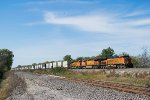 BNSF 7079 eastbound BNSF intermodal train