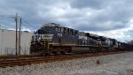 NS hauls coal northbound at Columbus, OH