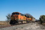 BNSF 7272 westbound BNSF empty ethanol train