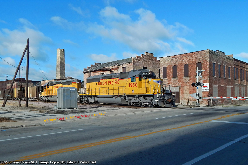 R-IVUP Ives to Upton has Sd40N pair 1885 and 1950 this week