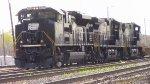 NS 1073 Switching At Greensboros Pomoma Yard