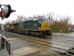 CSX 384 and 665
