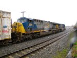 CSX 665 and 384