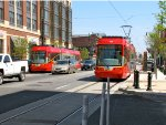 DC Streetcar 202 and 201