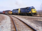 CSX 1555/6440 on H776 at Renick Jct.