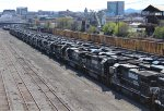 Stored Norfolk Southern Locomotives
