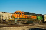 BNSF 1661 tied down BNSF local power